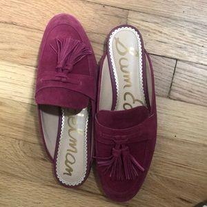 Worn twice Sam Edelman wine loafers